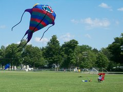 Large monster kite at Kites over Branch County