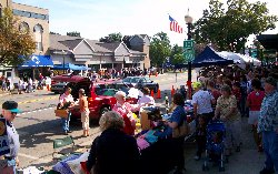 Coldwater, Michigan AppleFest (apple festival and craft show)
