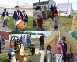 Coldwater Civil War Days photo collage